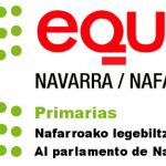 Primarias, EQUO 2019-2023 Ayuntamiento Pamplona, Parlamento Navarra